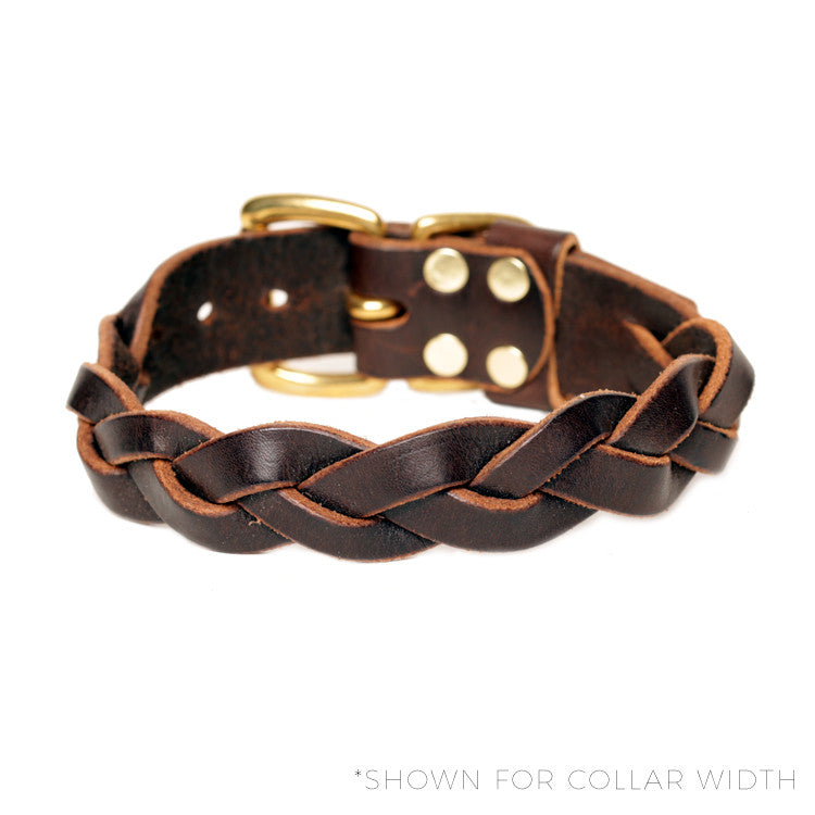"HC Signature - 1 1/4"" Braided Collars"