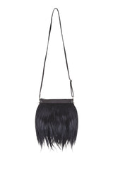 Marey London. Fuzzy. Furry Clutch Bag