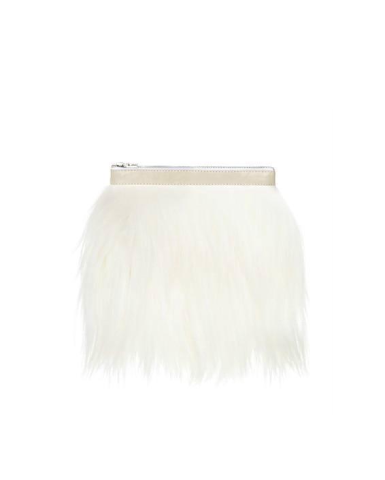 Marey London Fuzzy Handbag Purse