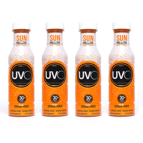 4 UVO Bottles (12 oz each bottle)