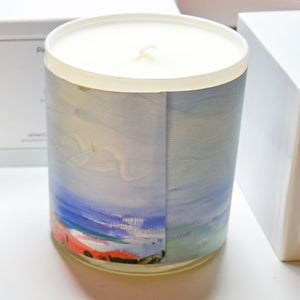 ORIGINAL FINE ART CANDLE:  TWELVE