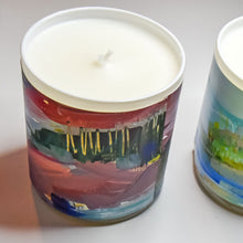 Load image into Gallery viewer, ORIGINAL FINE ART CANDLE:  FOURTEEN: AVAILABLE VIA GALLERY