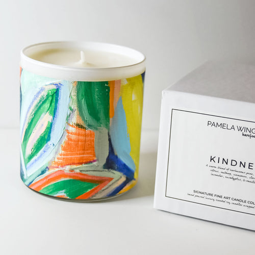ORIGINAL FINE ART CANDLE:  TWO