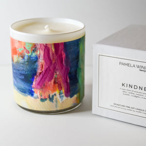 ORIGINAL FINE ART CANDLE:  FOUR: AVAILABLE VIA GALLERY