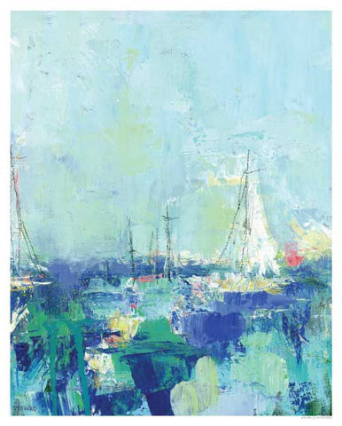A Perfect Day Coastal Print by Pamela Wingard