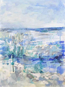 Adrift. Original Painting: The Water Collection. AVAILABLE THROUGH GALLERY