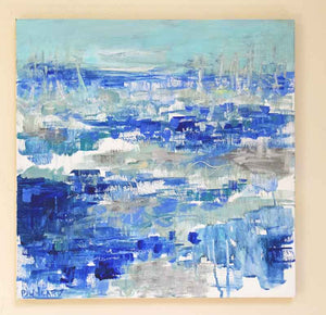 All At Sea. Original Painting: The Water Collection
