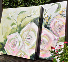Load image into Gallery viewer, Faith Always. Original Painting: Always Floral Collection