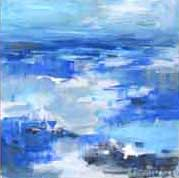Load image into Gallery viewer, Beached. Original Painting: The Water Collection