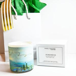 ORIGINAL FINE ART CANDLE:  ONE