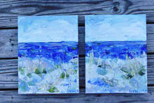 Load image into Gallery viewer, Drifting Along 2. Original Painting: Changing Tides Collection AVAILABLE THROUGH GALLERY