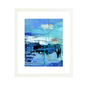 'Evening on the Water' Fine Art Print on Heavyweight Archival Watercolor Paper