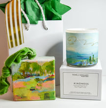 Load image into Gallery viewer, GIFT SET: ORNAMENT & ORIGINAL ART WRAPPED CANDLE