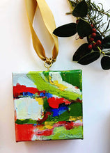 Load image into Gallery viewer, 'HOLLY' HAND PAINTED CHRISTMAS ORNAMENT