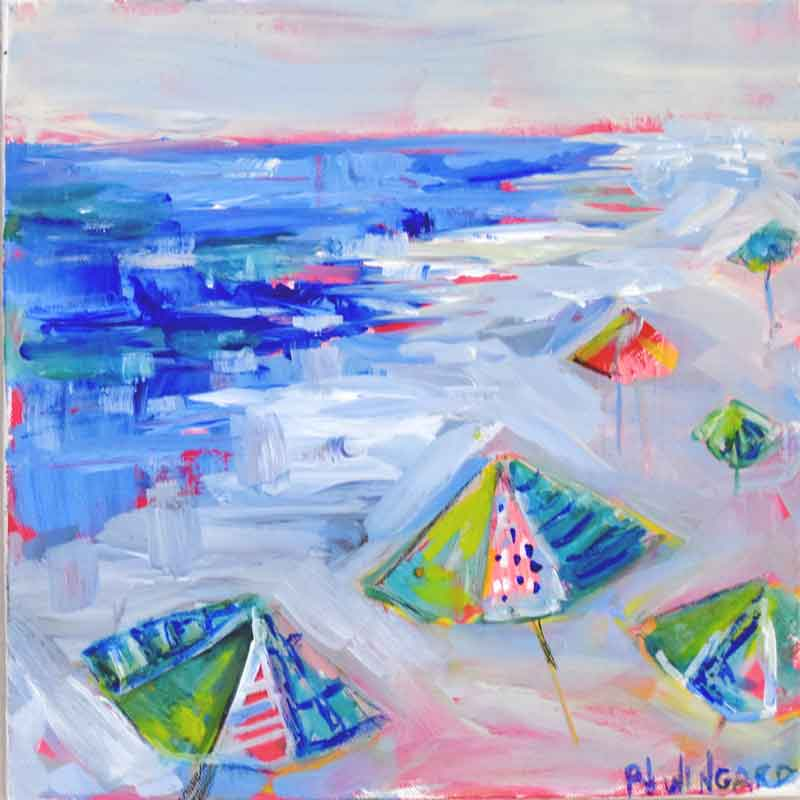 Holiday Weekend. Original Painting: Beach Girls Collection