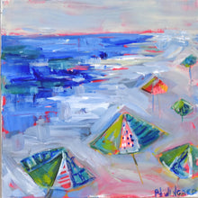 Load image into Gallery viewer, Holiday Weekend. Original Painting: Beach Girls Collection
