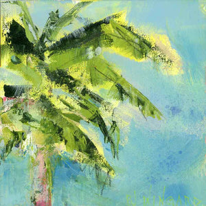Palm Tree Afternoon. Original Painting: Palm Tree Collection