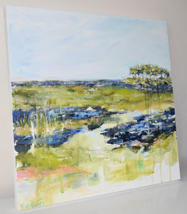Seabrook View. Original Painting: Wanderlust Collection AVAILABLE THROUGH GALLERY
