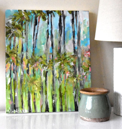 Sunset Boulevard. Original Painting: Wanderlust Collection