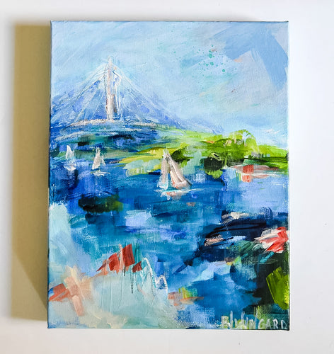 The Bay Painting