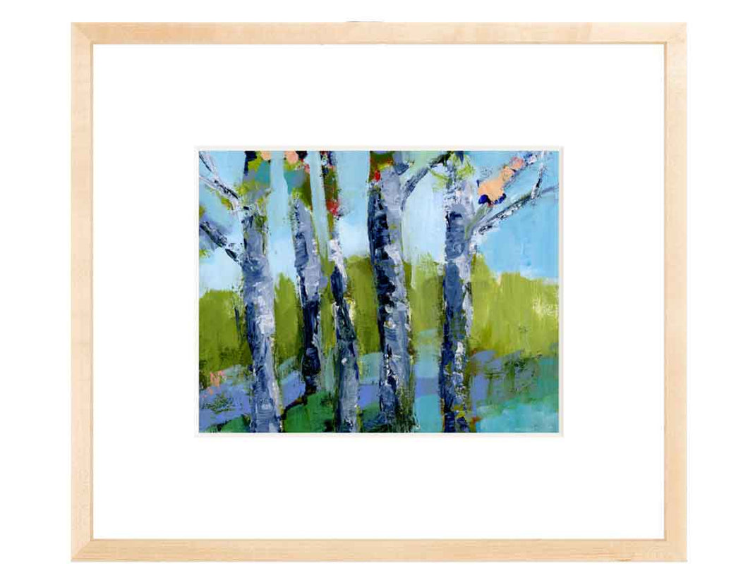'Walk in the Woods 7' Fine Art Print on Heavyweight Archival Watercolor Paper