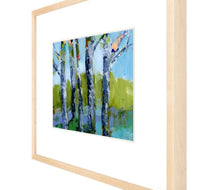 Load image into Gallery viewer, 'Walk in the Woods 7' Fine Art Print on Heavyweight Archival Watercolor Paper