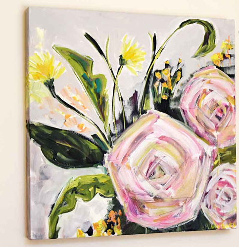 Grace Always. Original Painting: Always Floral Collection