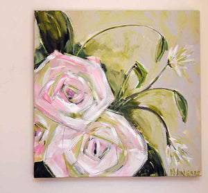 Joy Always. Original Painting: Always Floral Collection
