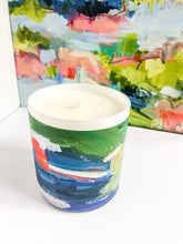 Load image into Gallery viewer, ORIGINAL FINE ART WRAPPED CANDLE: SEVEN