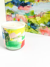 Load image into Gallery viewer, ORIGINAL FINE ART WRAPPED CANDLE: THREE