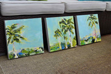 Load image into Gallery viewer, Sunny Summer Day. Original Painting: Palm Tree Collection