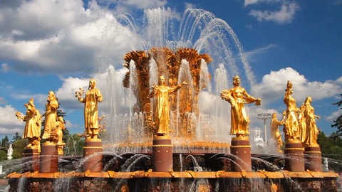 Fountains in Russia