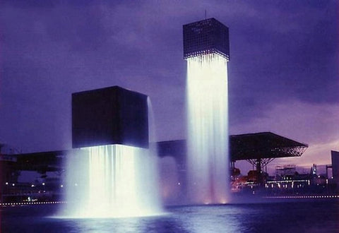 The Nine Floating Fountains of Japan