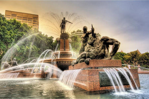 The Archibald Fountain