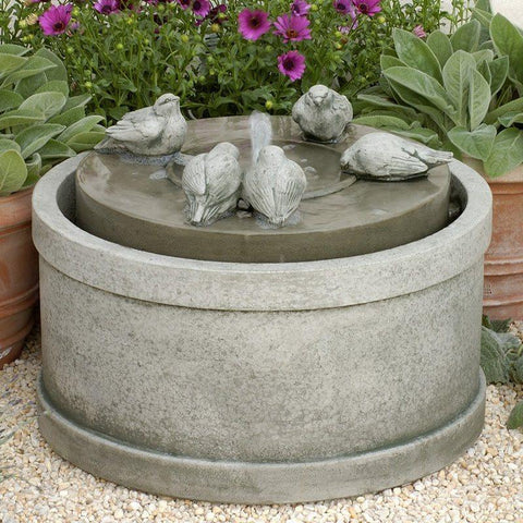 Passaros Birds Water Fountain