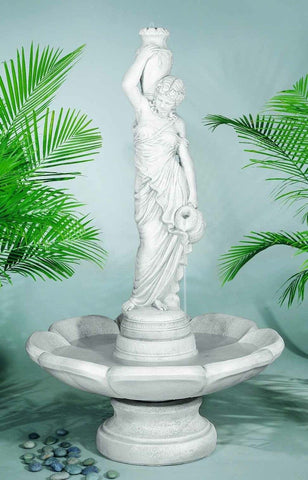 Beautiful Outdoor Garden Water Fountains With Women Statues