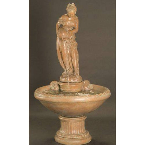 This Light Brown Ornament Is A Classic Style, Similar To The Above, With A  Hint Of Roman Artwork To It. The Sophisticated Fountain Is Perfect For Your  ...