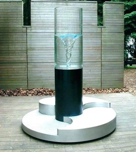 Vortex outdoor garden fountains