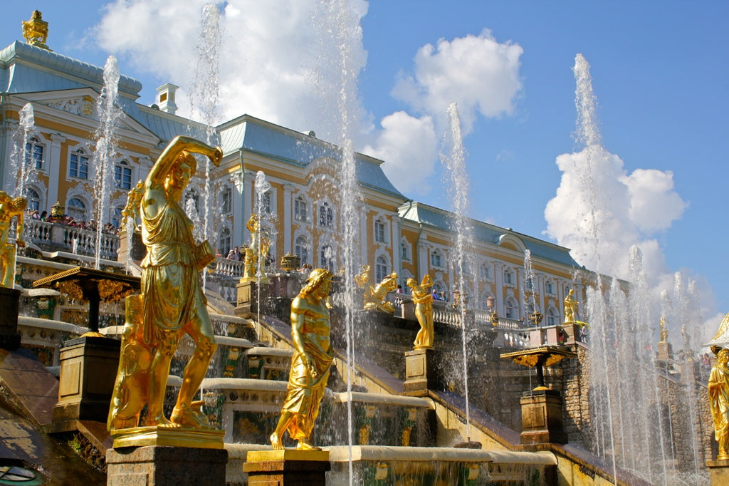 The Quizzical Trick Fountains of Peterhof Palace