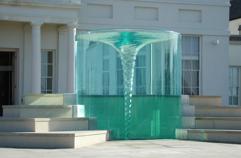 Get Mesmerized by Seaham Hall's Charybdis Fountain