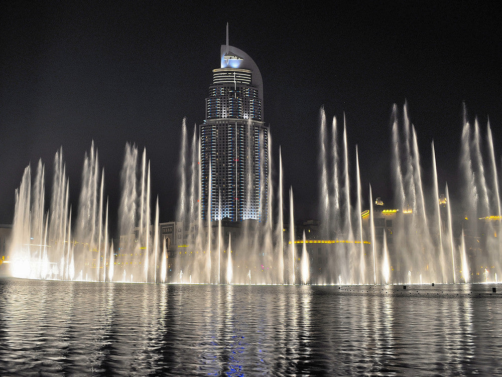 A Symphonious Water Spectacle: The Dubai Fountain