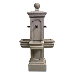 Columnaris Courtyard Fountain for Bronze Spouts - Outdoor Fountain Pros