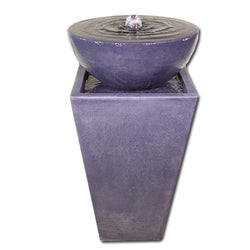 Tapered Zen Fountain - Outdoor Fountain Pros