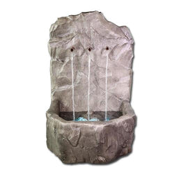 Tribus Rock Fountain - Outdoor Fountain Pros