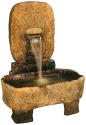 Large Arch Monolith Fountain, Wall Outdoor Fountains - Outdoor Fountain Pros