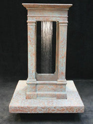 Old World Center Rain Outdoor Water Fountain, Short, Large Outdoor Fountains - Outdoor Fountain Pros