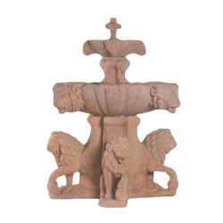 Large Lion Outdoor Water Fountain For Pond