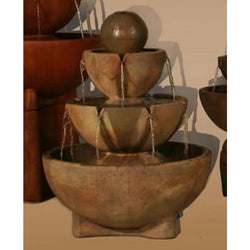 Tall Stone Vessels Fountain, Garden Outdoor Fountains - Outdoor Fountain Pros