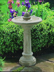 Acorn Garden Small Water Fountain, Garden Outdoor Fountains - Outdoor Fountain Pros