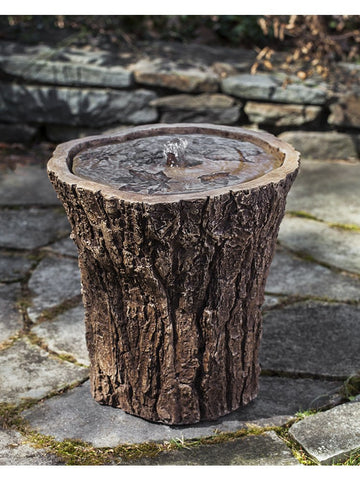 Adirondack Garden Water Fountain, Garden Outdoor Fountains - Outdoor Fountain Pros